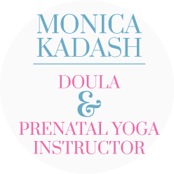 monica kadash doula & prenatal yoga instructor